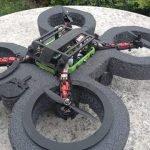 Drone costruito dagli allievi del CFP per il Concorso Drone War Game 2017