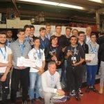 Allievi del CFP Trissino al Concorso Olimpiade della macchina utensile