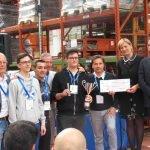 Allievi del CFP Trissino all'Olimpiade della macchina utensile 2017 di Confindustria Vicenza