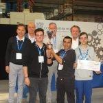 Premiazione CFP Trissino all'Olimpiade della macchina utensile del 2017