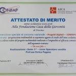 Menzione speciale al concorso nazionale Progetti Digitali CONFAP