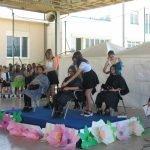 Studenti corso parrucchiere alla festa di fine anno 2017 del CFP Trissino