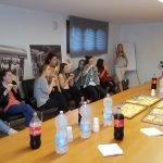 Visita didattica al Molino Rachello degli studenti del corso di panetteria CFP Trissino