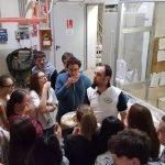 Studenti del corso di panetteria del CFP Trissino al Molino Rachello