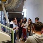 Studenti del corso per panettiere del CFP Trissino al Molino Rachello