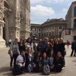 Studenti del corso addetti vendita del CFP Trissino a Milano